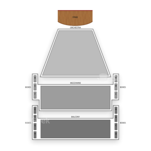 Ahmanson Theatre Seating Chart Concert