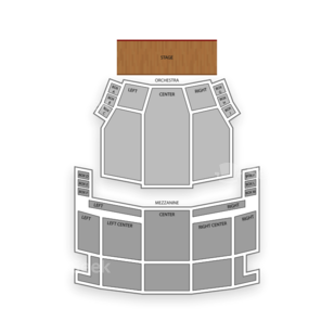 Ed Mirvish Theatre Seating Chart Dance Performance Tour