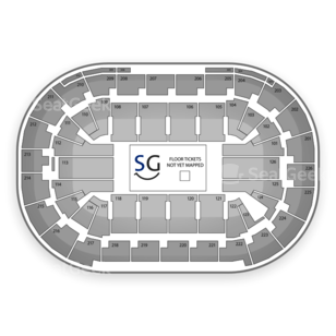 Mandalay Bay Events Center Seating Chart Comedy