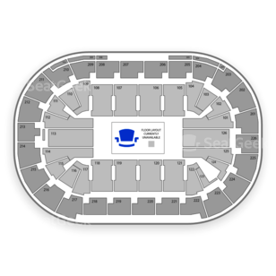 Mandalay Bay Events Center Seating Chart Music Festival