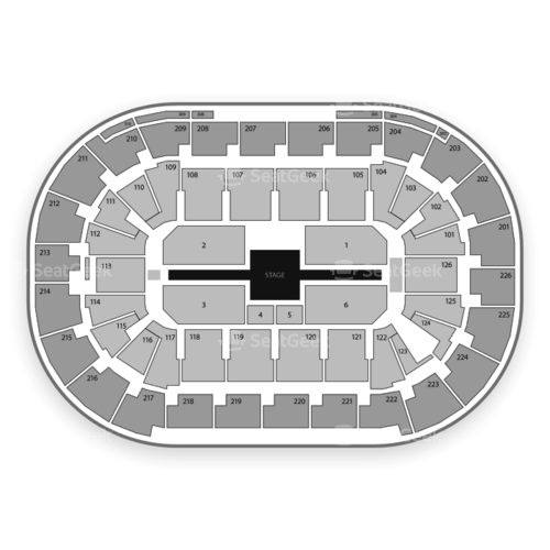 Mandalay Bay Events Center Seating Chart Concert