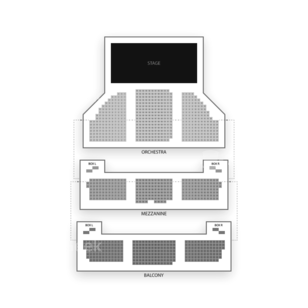 Cort Theatre Seating Chart Concert