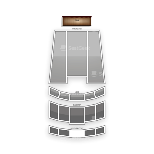 Count Basie Theatre Seating Chart
