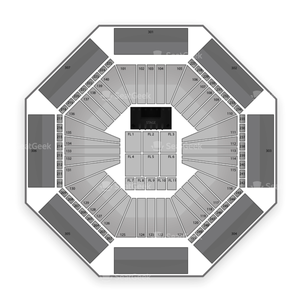 Aviva Centre at York University Seating Chart Concert