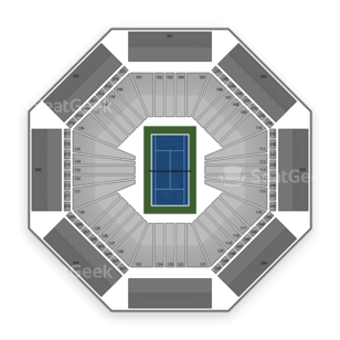 Rexall Centre Seating Chart Tennis