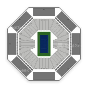 Aviva Centre Seating Chart Tennis
