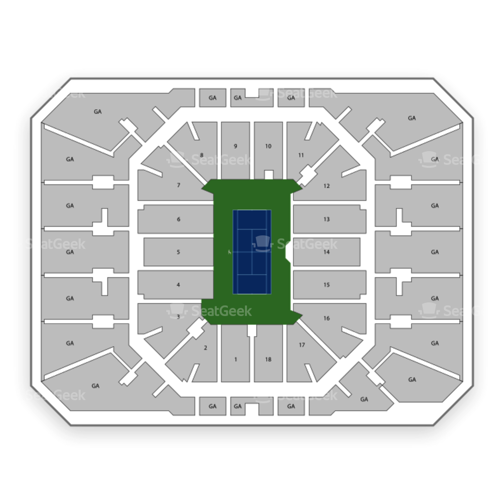 Louis Armstrong Stadium Seating Chart Tennis