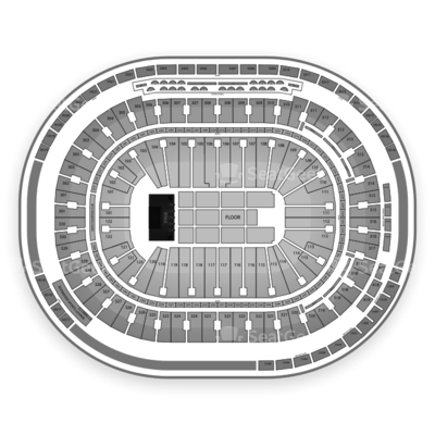 Rogers Arena seating chart Lady Gaga