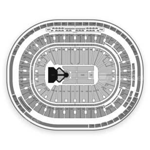 Rogers Arena Seating Chart Concert