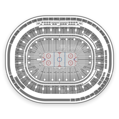 Rogers Arena seating chart Vancouver Canucks