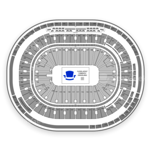 Rogers Arena Seating Chart MMA