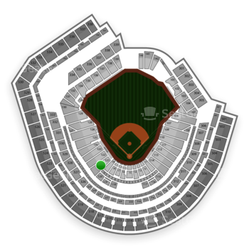 New York Mets at Citi Field Section 121 View
