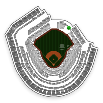 New York Mets at Citi Field Section 143 View