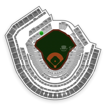 New York Mets at Citi Field Section 136 View