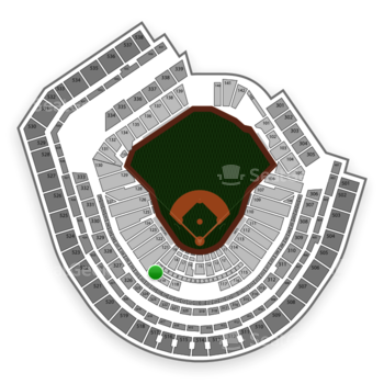 New York Mets at Citi Field Section 120 View