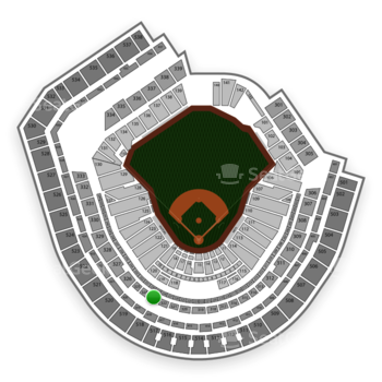 New York Mets at Citi Field Section 323 View