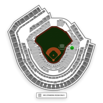 New York Mets at Citi Field Section 107 View