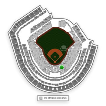New York Mets at Citi Field Section 12 View