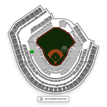 New York Mets at Citi Field Section 127 View