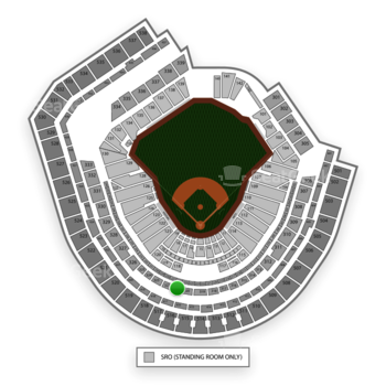 New York Mets at Citi Field Section 321 View