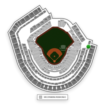 New York Mets at Citi Field Section 402 View