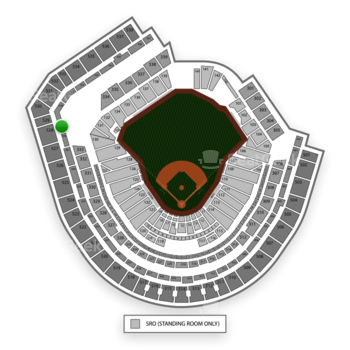 New York Mets at Citi Field Section 429 View