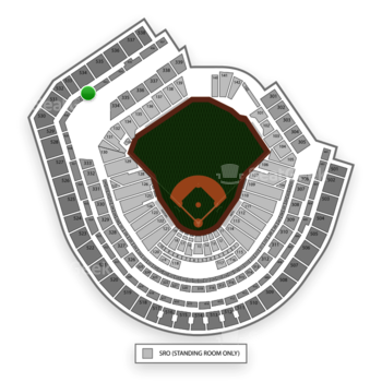 New York Mets at Citi Field Section 432 View