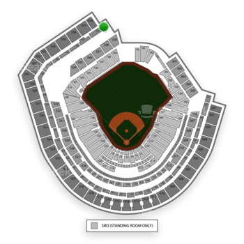 New York Mets at Citi Field Section 437 View
