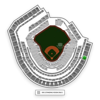 New York Mets at Citi Field Section 504 View