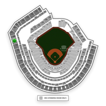 New York Mets at Citi Field Section 528 View