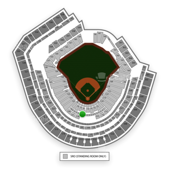 New York Mets at Citi Field Sterling Suite 7 View