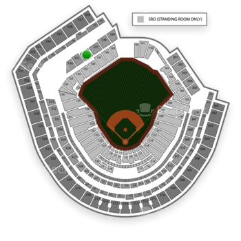 New York Mets at Citi Field Section 336 View