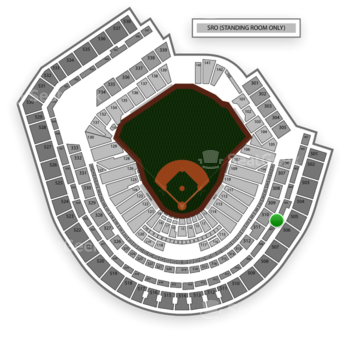 New York Mets at Citi Field Section 406 View