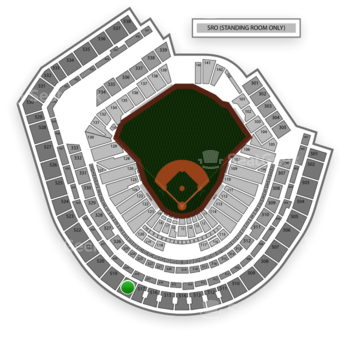 New York Mets at Citi Field Section 518 View