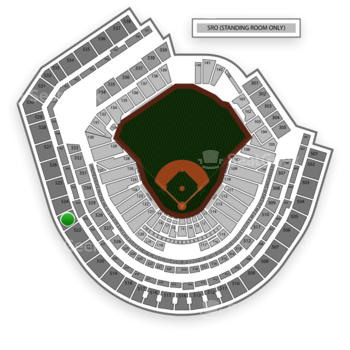 New York Mets at Citi Field Section 523 View