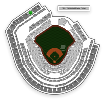 New York Mets at Citi Field Section 536 View