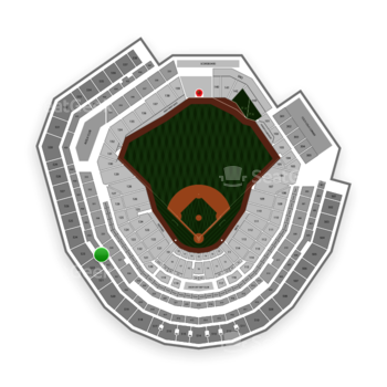 New York Mets at Citi Field Section 423 View