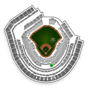 New York Mets at Citi Field Section 117 View