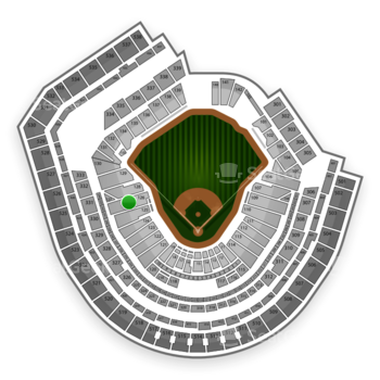 New York Mets at Citi Field Section 126 View