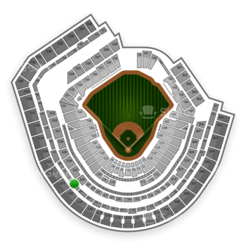 New York Mets at Citi Field Section 421 View