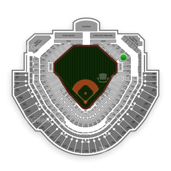 MLB at Chase Field Section 105 View