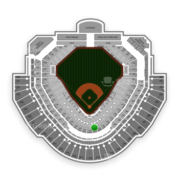 MLB at Chase Field Section 121 View