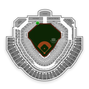 MLB at Chase Field Section 144 View