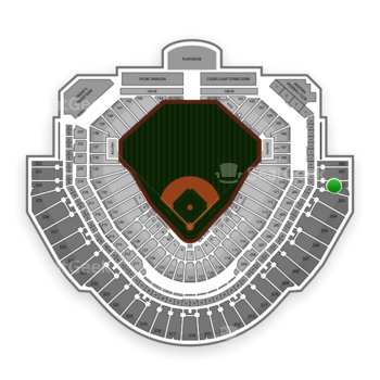 MLB at Chase Field Section 302 View