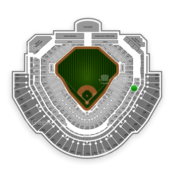 MLB at Chase Field Section 202 View