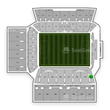Toronto FC at BMO Field Section 104 View