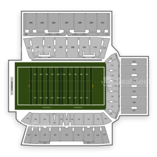 BMO Field Seating Chart Football