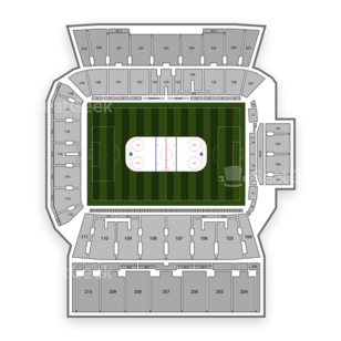 BMO Field Seating Chart NHL