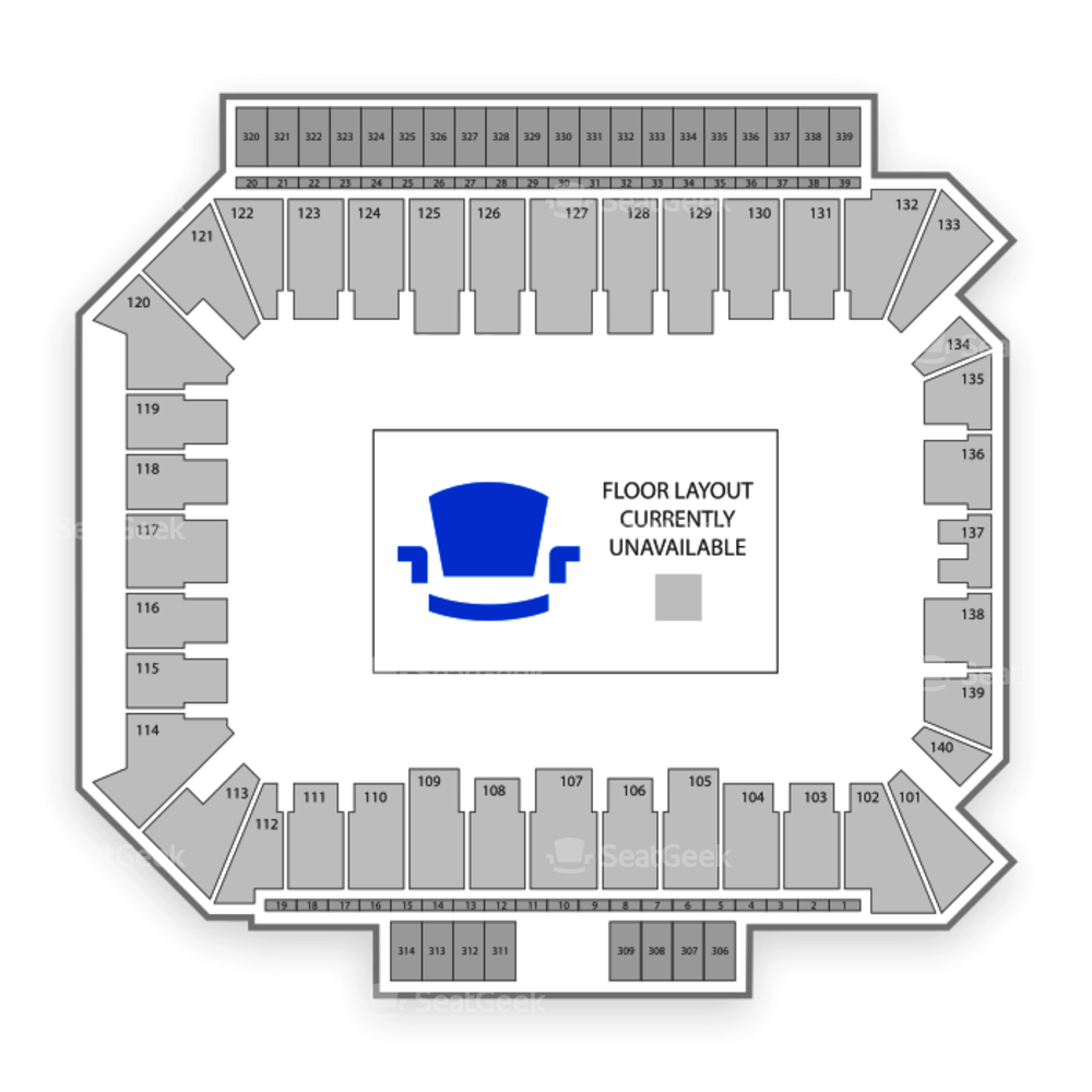 Villanova Wildcats Football Seating Chart
