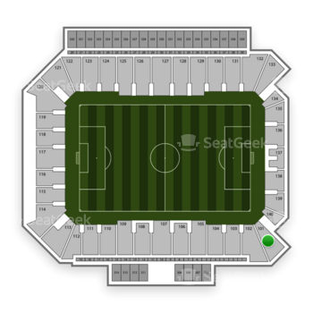 Philadelphia Union at Talen Energy Stadium Section 101 View